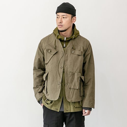 Fishing tackle jacket