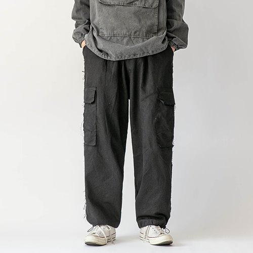 Grunge two-way pants