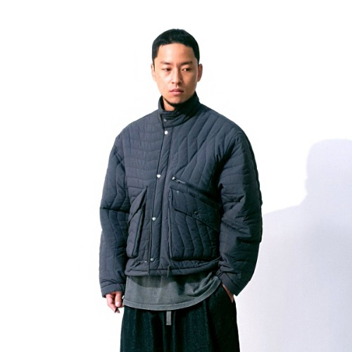 Musa quilting jacket - Dark Gray