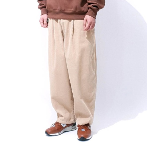 Moet corduroy pants - Black / Beige / Brown / Ivory / Charcoal