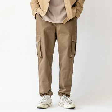 Zentas two-way cargo pants - Camel