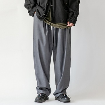 Yoji balloon trouser - Gray