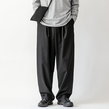Yoji balloon trouser - Black