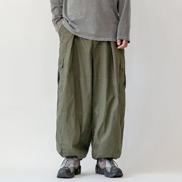 Union combat two-way balloon pants