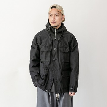 Tetra two-way field jacket - Black