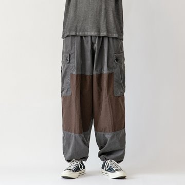 Nerow wide-balloon pants - Charcoal