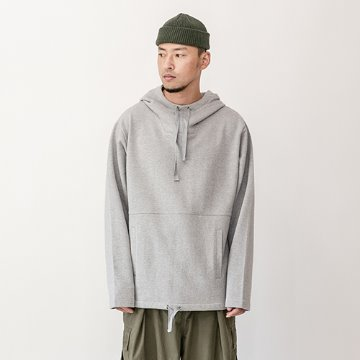 Daish heavy cotton hoody - Gray