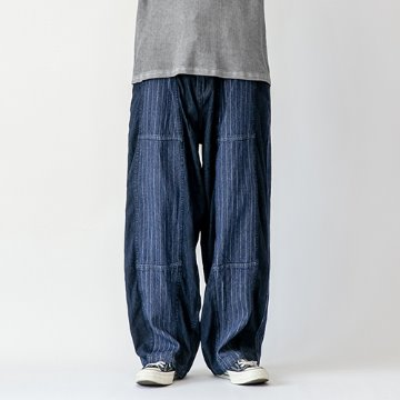 Remake wabash denim balloon pants