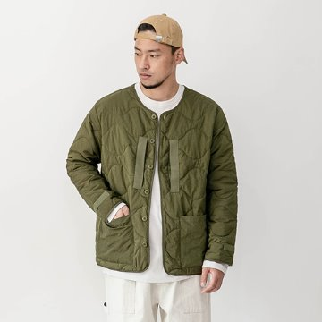 Spec quilting jacket - Olive Khaki