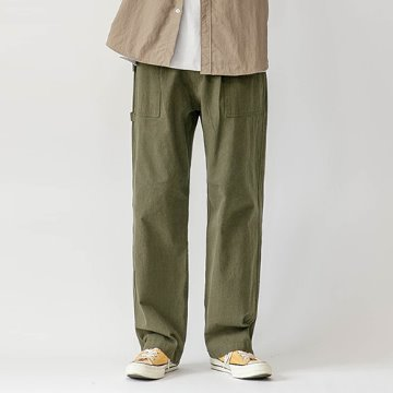 Prime washing baker pants - Khaki