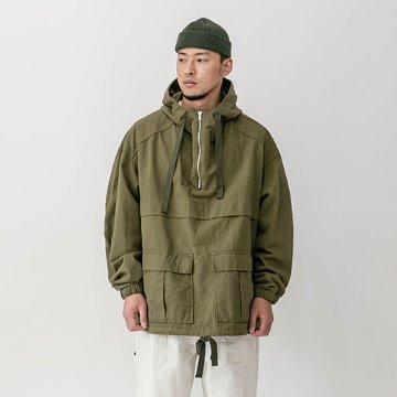 Talbot heavy cotton anorak