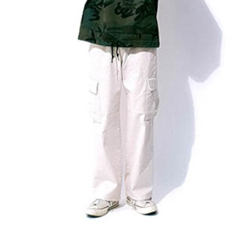 Flor two-way cargo pants - Ivory