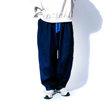 Saro denim balloon pants - Deep Blue
