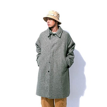 Chester hound tooth coat