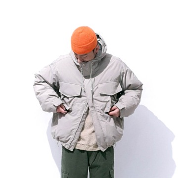 Kaptain duck down hoody jacket