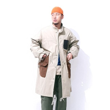Remake M-65 fishtail winter parka - Beige
