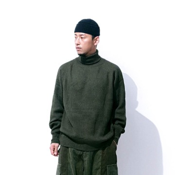 Fisherman knit - Khaki