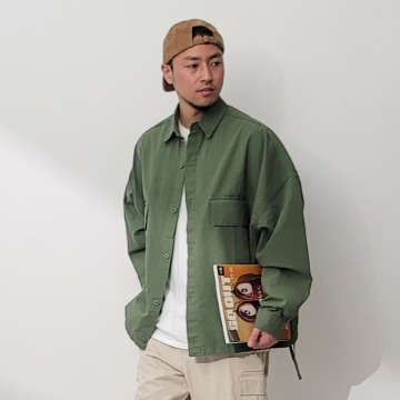 네이키드소울 Army cargo shirts jacket - 2 color