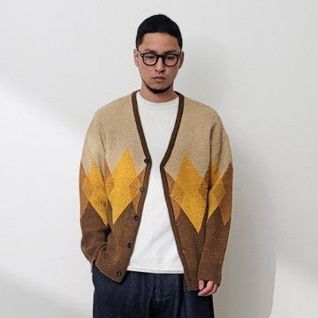 네이키드소울 Mosk mohair cardigan - 2 color