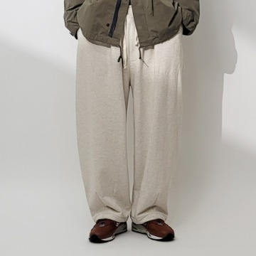 네이키드소울 Modeny sweat wide pants - 5 color