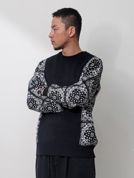 네이키드소울 Korsa paisley knit - 3 color