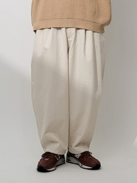 네이키드소울 Kota semi wide pants - 2 color