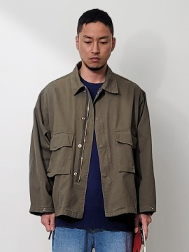 네이키드소울 Bold cotton jacket - 2 color